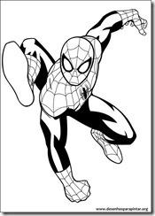 Homem Aranha, Nova, Tigresa e Punho de Ferro desenhos para colorir imprimir e pintar