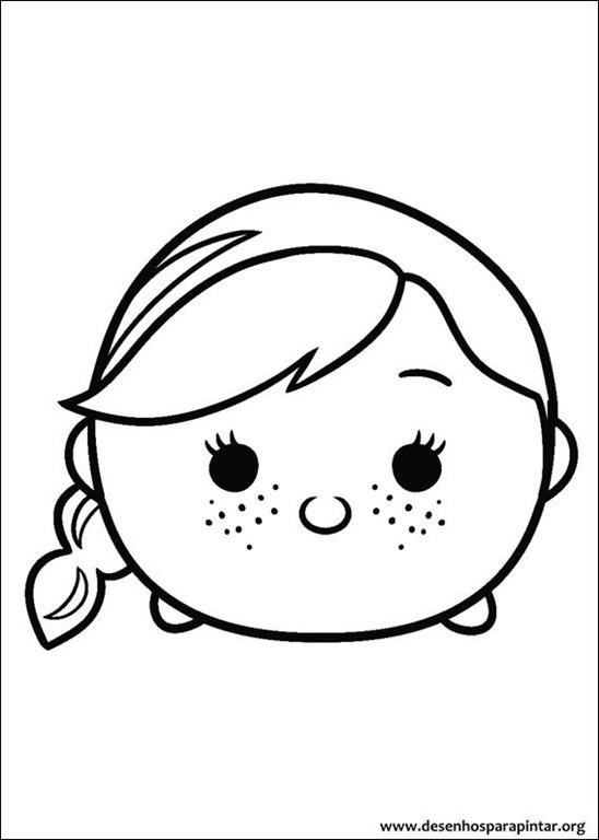 Disney Tsum Tsum Desenhos Para Colorir Imprimir E Pintar