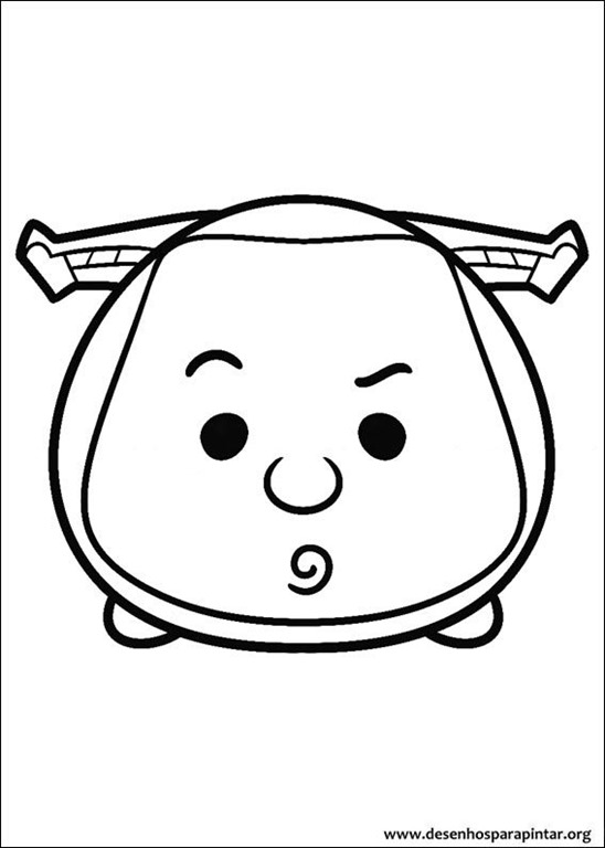 Disney Tsum Tsum desenhos para colorir imprimir e pintar ...