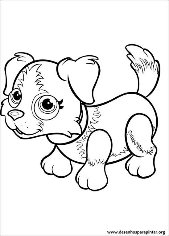 Pet Parade Cachorrinhos Fofos Para Colorir Imprimir E Pintar