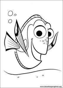 Nemo Desenhos Para Pintar E Colorir