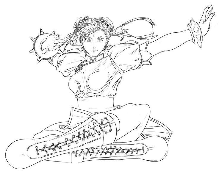 street fighter desenhos para colorir imprimir e pintar do