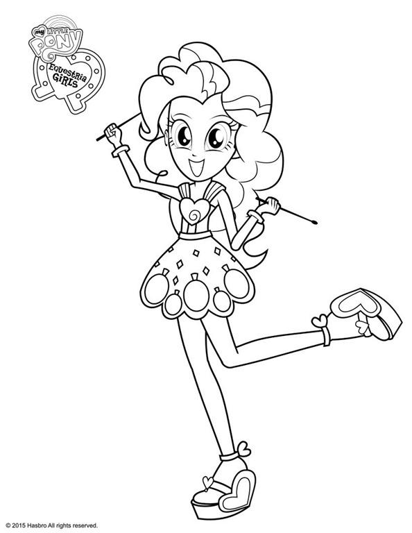 Novos desenhos das Equestria Girls My Little Pony para imprimir ...
