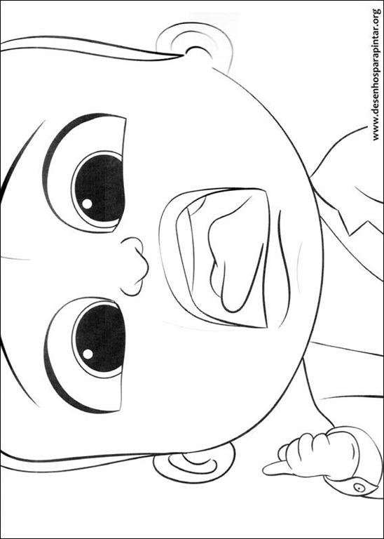 O Poderoso Chefinho Baby Boy Desenhos Para Colorir Imprimir E