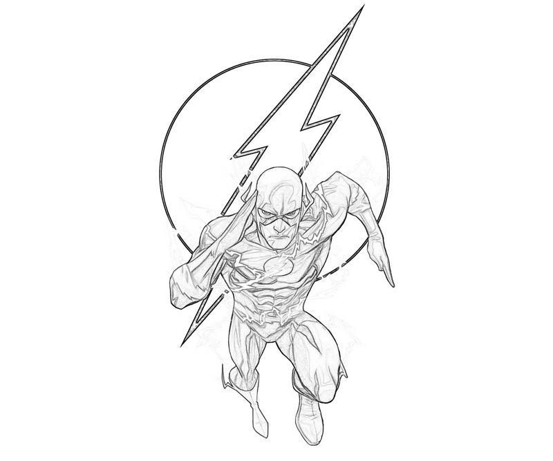 The Flash desenhos para colorir imprimir e pintar » Desenhos para ...