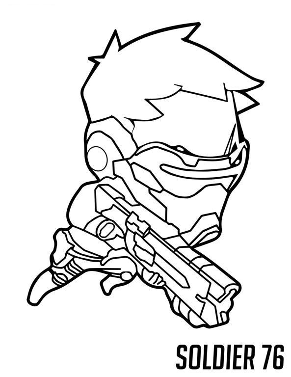 Overwatch Desenhos Para Colorir Imprimir E Pintar