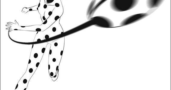 Desenho Da Ladybug Para Colorir E Imprimir