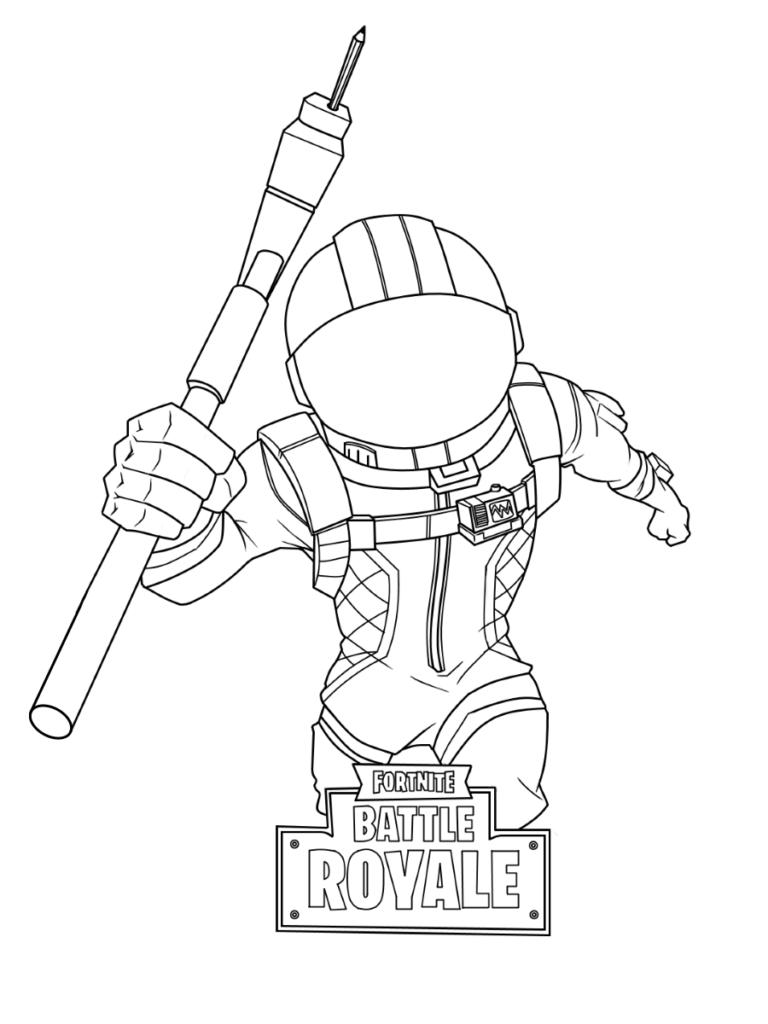 Fortnite Desenhos Para Colorir Pintar E Imprimir Gratis Do