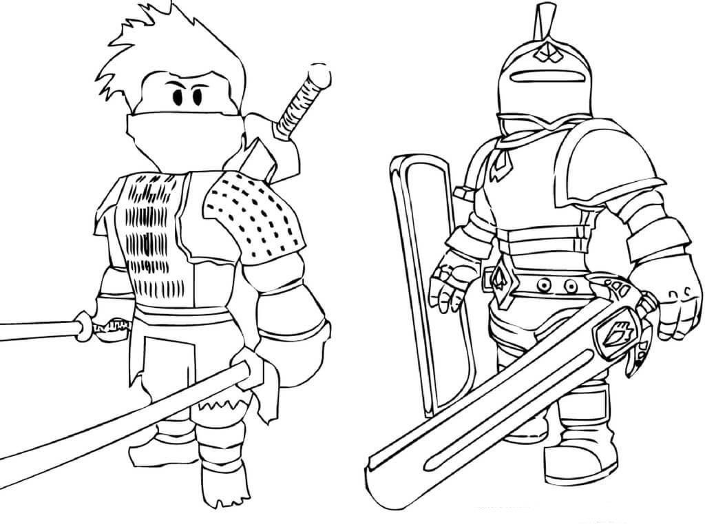 Juegos De Colorear: Roblox Desenhos Para Colorir Imprimir E Pintar Do Game