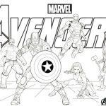 marvel vingadores guerra infinita end game avengers thanos desenhos para colorir imprimir pintar