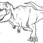 Desenhos de Dinossauros para colorir imprimir e pintar: Tiranossauro Rex, Brontossauro, Velociraptor, Triceratops, etc